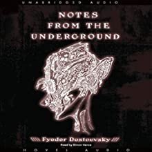 Notes from the Underground Audiobook by Fyodor Dostoevsky Narrated by Simon Vance