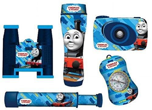 Thomas And Friends Spy Adventure Kit - 99085 - Inc Camera, Binoculars, Telescope, Flashlight & Compass