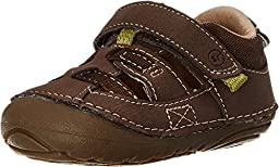 Stride Rite Baby Boy\'s SRT SM Antonio (Infant/Toddler) Brown Sandal 3 Infant XW