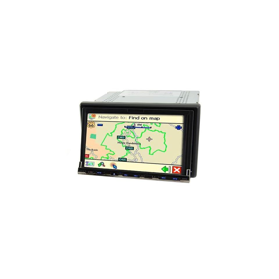 Flux Capacitor 7 Inch Dual Zone Car DVD System (GPS + DVB T)