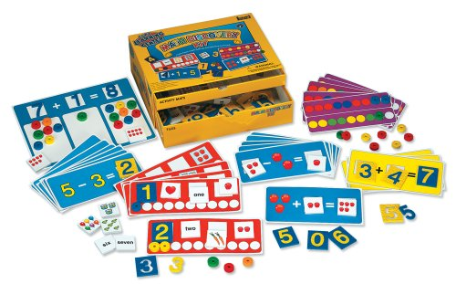 Lauri Toys Early Learning Center Kit- Math Discovery (Math Learning Centers compare prices)