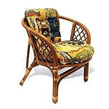 Rattan Wicker Chair w/ Cushion