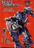 echange, troc Hemma - Transformers Movie 2 : Jeux avec autocollants