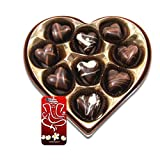 Chocholik Belgium Chocolate Gifts - Delightful Chocolate Hearts With 3d Mobile Cover For IPhone 6 - Gifts For...