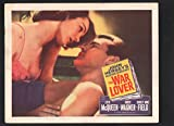 War Lover Lobby Card #3-1962-Steve McQueen and Shirley Anne Field