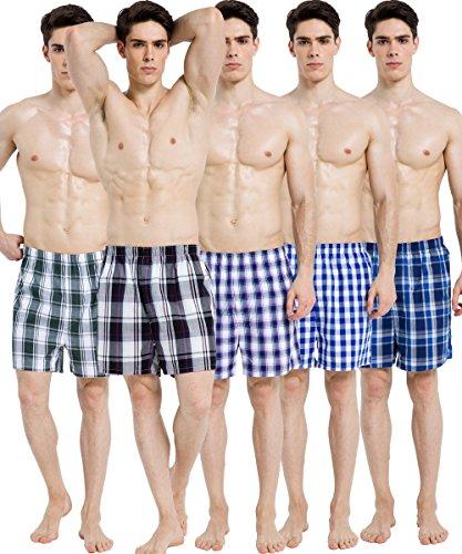 youboxer-5-pack-100-cotton-mens-woven-tartan-boxer-shortsrandom-colour-medium-random-colour