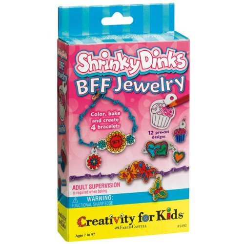 Shrinky Dinks BFF Jewelry Activity