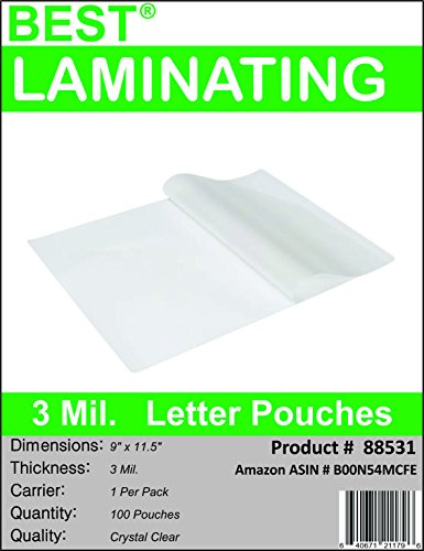 best-laminating-3-mil-clear-letter-size-thermal-laminating-pouches-9-x-115