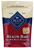 Blue Buffalo Health Bars for Dogs, Bacon, Egg and Cheese, 16-Ounce Bag
