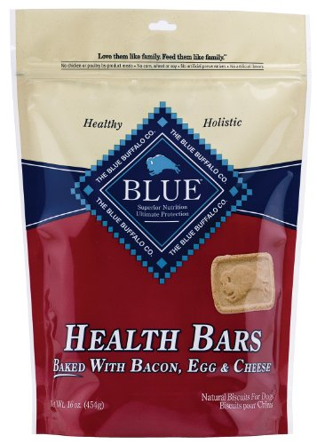 Blue Buffalo Health Bars for Dogs, Bacon, Egg and