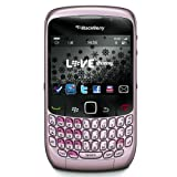 Blackberry Curve 8520 Unlocked Quad-Band GSM Phone with 2MP Camera, QWERTY Keyboard, Wi-Fi and Bluetooth - US Warranty - Opal Pink