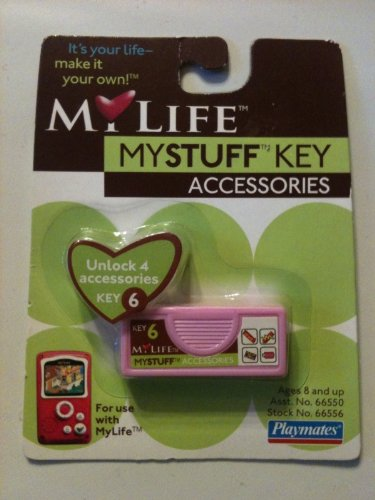 MYLFE MYSTUFF ACCESSORY Key #6 - 1