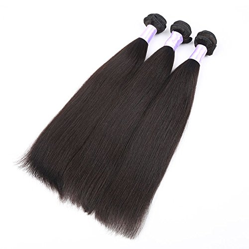 Angelbabyhair-6a-Virgin-Malaysian-Kinky-Straight-Human-Hair-Weft-3-Bundles-Coarse-Yaki-Hair-Weaves-Weaving-Natural-Black-1b-14-14-14