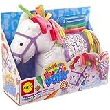 ALEX Toys Craft Color & Cuddle Pony Soft Toy