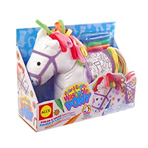 Alex Toys Alex Toys Color and Cuddle Washable Pony