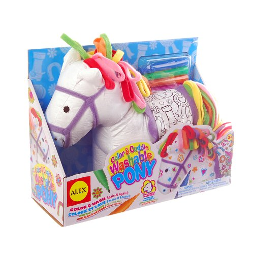 ALEX Toys Craft Color and Cuddle Washable Pony (For Color Girls compare prices)