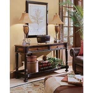 Hooker Furniture Preston Ridge Sofa Table in Cherry/Mahogany Finish