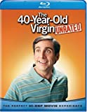 Cover art for  The 40-Year-Old Virgin (Unrated) [Blu-ray]