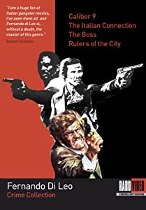 Fernando Di Leo Crime Collection (Caliber 9 / The Italian Connection / The Boss / Rulers of the City) [Import]