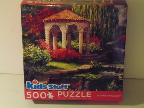 "Kids Stuff 500 Piece Puzzle ""Spanish Gazebo"" - 1"