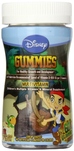 Disney Gummies, Jake And The Neverland Pirates, 60 Count front-352797