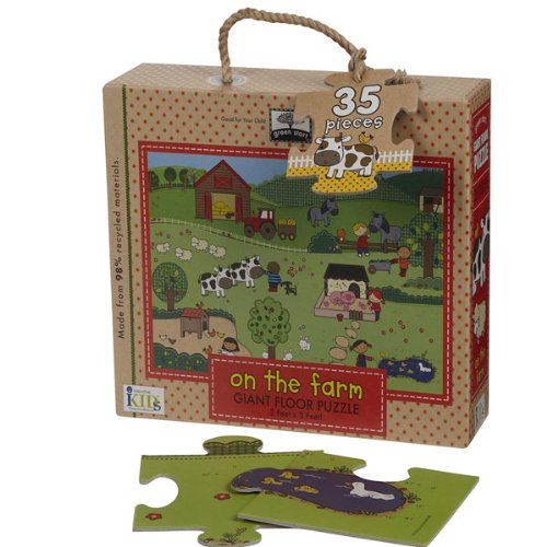 Cheap Fun Innovative Kids Green Start Giant Floor Puzzle (Farm) (B0057APKB2)