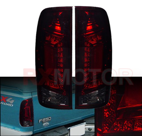 1997-2003 Ford F150 F250 Passenger Driver Side Replacement Led Tail Light Assembly