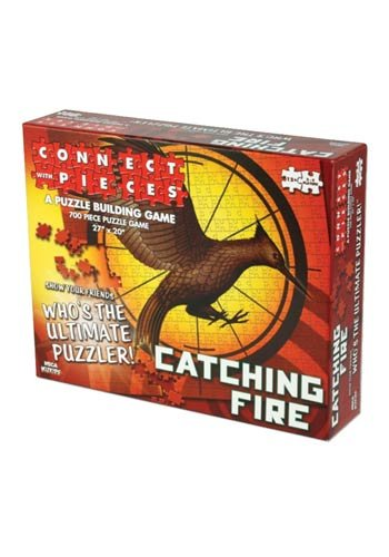 The Hunger Games Catching Fire - Connect with Pieces - Puzzle Building Game - 1