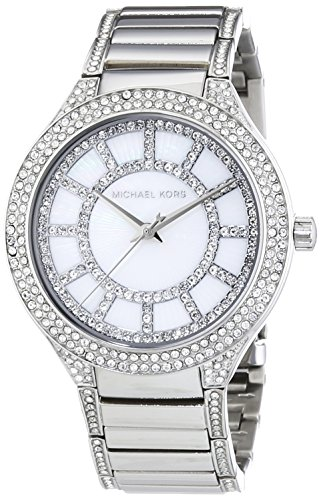 Michael Kors MK3311 37mm Silver Steel Bracelet & Case Mineral Women's Watch