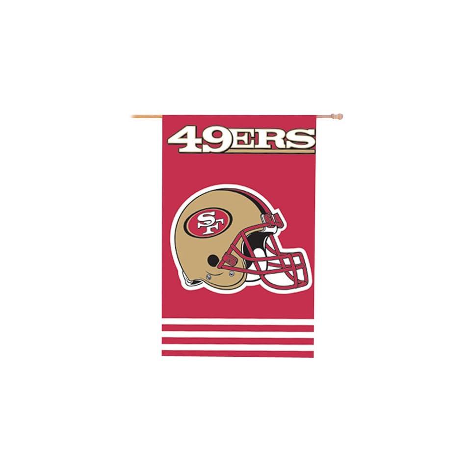 NFL San Francisco 49ers Applique Banner Flag