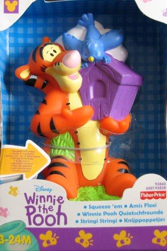 Disney Winnie the Pooh Squeeze 'Em Toy: Tigger - 1