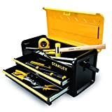 Stanley Tools and Consumer Storage STST19502 Metal Box with 2 Drawers, 19""