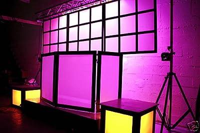 DJ Facade + DJ Backdrops + 2 Dance Stages : COMPLETE SET