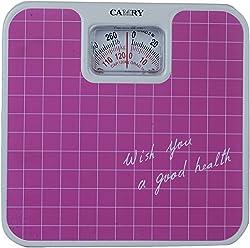 MCP Camry Analog Manual Weighing Scale- 120kg, Pink