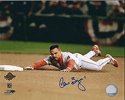 Autographed Carlos Baerga 8x10 Cleveland Indians Photo