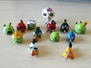 Adorable 12 Piece Birds Figure Set