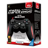 PS3 Shadow Wireless Controller with Rumble ~ DreamGEAR