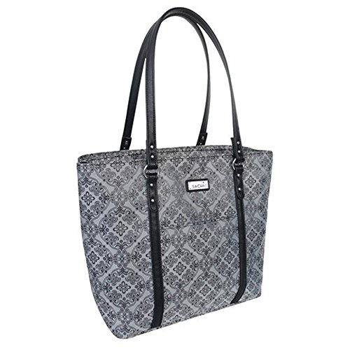 sachi-two-tote-duel-compartment-insulated-lunch-tote-bag-silver