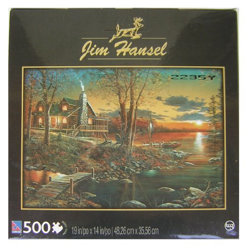 Comforts of Home 500 Piece Jigsaw Puzzle By Artist Jim Hansel