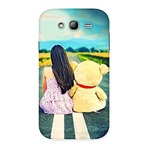 Enticing Teddy Girl Cute Multicolor Back Case Cover for Galaxy Grand Neo Plus