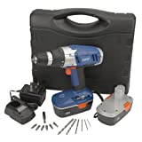 Draper 40764 18-Volt Cordless Rotary Drill and Case with Two Ni-CD Batteriesby Draper