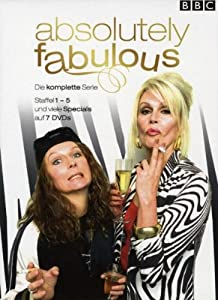 Absolutely Fabulous - Die komplette Serie (Season eins bis fünf - 7 DVDs) [Import allemand]