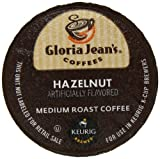 Gloria Jeans Hazelnut K-Cup packs for Keurig Brewers (Pack of 50)