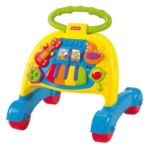 Baby / Child Fisher-Price Sturdy Brilliant Basics Musical Activity Walker W/ Developmental Benefits for Baby Infant