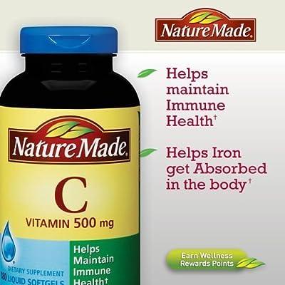 Nature Made Vitamin C 500 mg - 540 Softgels , Nature-zr
