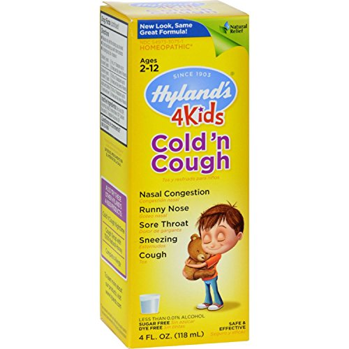 Hyland's Hylands Cold n Cough 4 Kids - 4 fl oz (Pulsatilla Extract compare prices)
