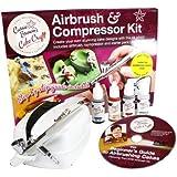 Cassie Brown Cake Craft Airbrush- und Kompressor-Set zur Dekoration