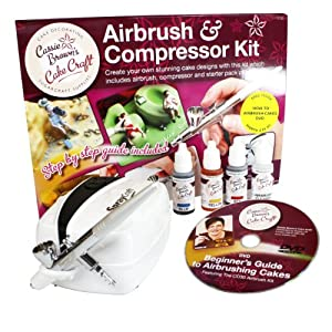 Airbrush For Cake Decorating : Amazon.com: Cassie Brown Cake Craft Cake Decorating ...