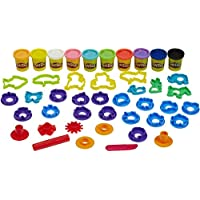 Play-Doh Stamp 'n Shape Toolkit with Cutters and Roller (Multi)