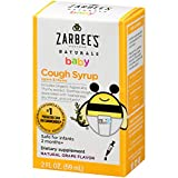 Zarbee's Naturals Baby Cough Syrup with Agave & Thyme, Natural Grape Flavor, 2 Ounce Bottle